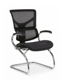 Black X Side Chair