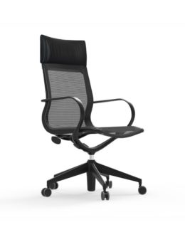 CUR109 Nylon High Back Mesh Executive & Conference Chair