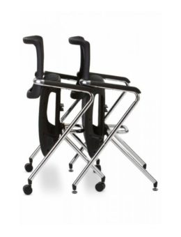 X Stacking Chair with out wheels