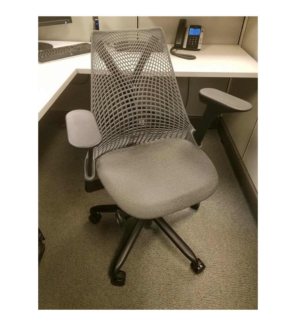 Used Herman Miller Sayl Chair Ergo Flow Office