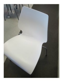 Used White Hercules Series Chair
