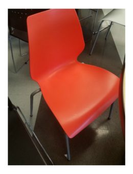 Used Red Hercules series Chair