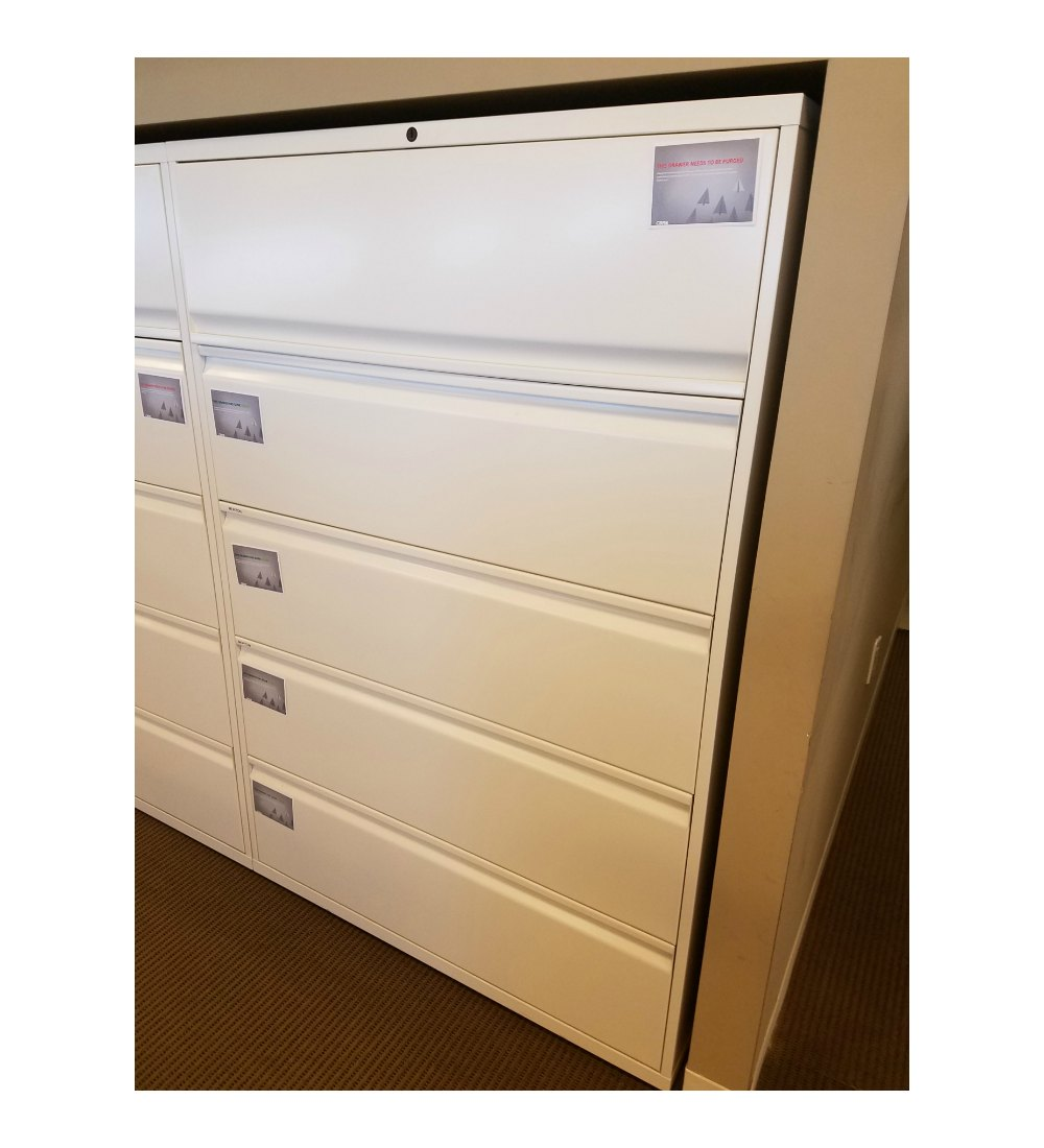 Used 5 Drawer Lateral File Cabinet