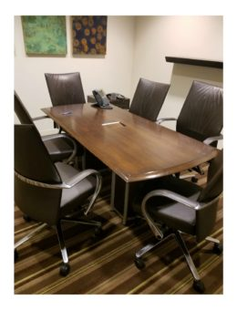 Used 3'x6′ Walnut Conference Table