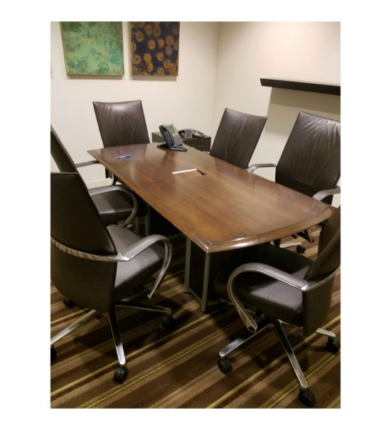 Used 3'x6' Walnut Conference Table