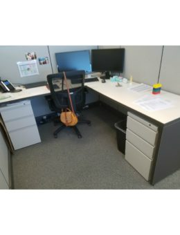 """Herman Miller AO2 6'x6.5'x53""""H Gently Used Cubicle Workstations"""