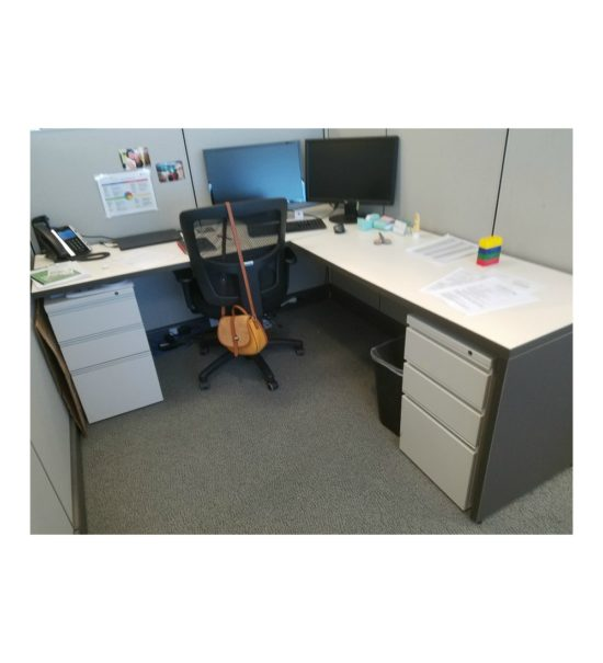 "Herman Miller AO2 6'x6.5'x53""H Gently Used Cubicle Workstations"