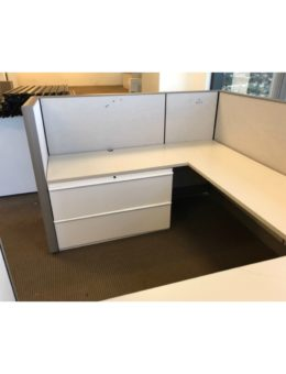"Knoll Dividends 8'x6'x50""H Cubicle Workstations Gently Used"
