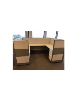 Knoll_Dividends_8'x6'x50H_Cubicle_Workstations_Gently_Used