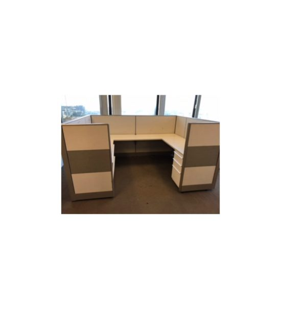 Knoll Dividends 8'x6'x50H Cubicle Workstations Gently Used