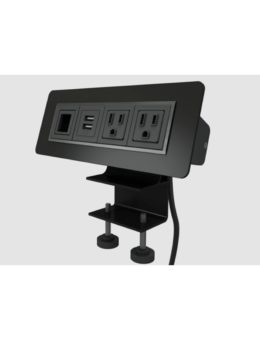 HAT Contract Black Surface mounted power module #SMPM-1-B