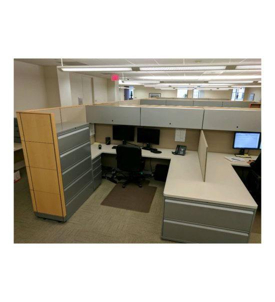 Knoll Dividends 7x8 Cubicle Workstations Gently USED
