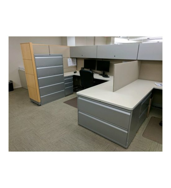 Knoll_Dividends_7x8_Cubicle_Workstations_Gently_USED