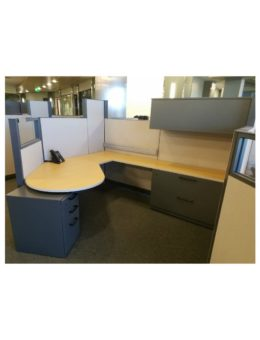 Steelcase Answer 8'x7′ Cubicle Workstations Gently USED